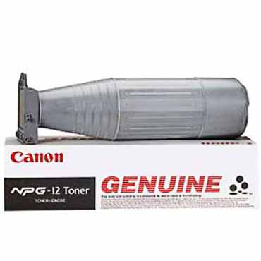 Genuine Canon NPG-12 Black Toner Cartridge