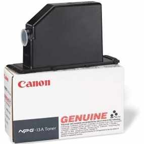 Genuine Canon NPG-13 Black Toner Cartridge