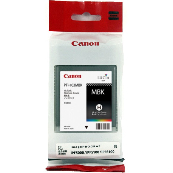 Genuine Canon PFI-101MBk Matte Black Ink Cartridge