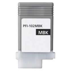 Compatible Canon PFI-102MBk Matte Black Ink Cartridge