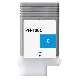 Compatible Canon PFI-106C Cyan Ink Cartridge