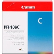 Genuine Canon PFI-106C Cyan Ink Cartridge
