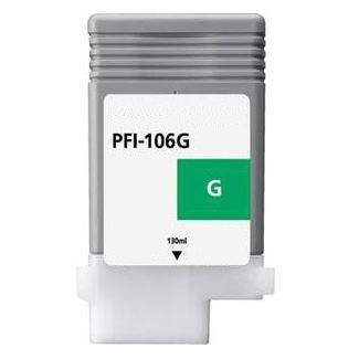 Compatible Canon PFI-106G Green Ink Cartridge