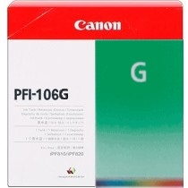 Genuine Canon PFI-106G Green Ink Cartridge