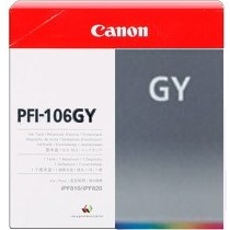 Genuine Canon PFI-106GY Gray Ink Cartridge