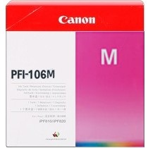 Genuine Canon PFI-106M Magenta Ink Cartridge