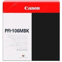Genuine Canon PFI-106MBK Matte Black Ink Cartridge
