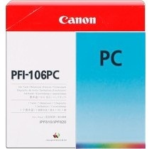 Genuine Canon PFI-106PC Photo Cyan Ink Cartridge