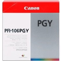 PFI-106PGY Ink Cartridge - Canon Genuine OEM (Photo Gray)