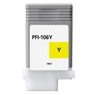 Compatible Canon PFI-106Y Yellow Ink Cartridge
