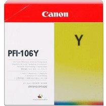 PFI-106Y Ink Cartridge - Canon Genuine OEM (Yellow)