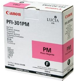 PFI-301PM Ink Cartridge - Canon Genuine OEM (Photo Magenta)