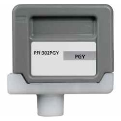 Compatible Canon PFI-302PGY Photo Gray Ink Cartridge