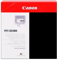 Genuine Canon PFI-303BK Black Ink Cartridge