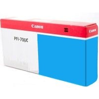 Genuine Canon PFI-706C Cyan Ink Cartridge