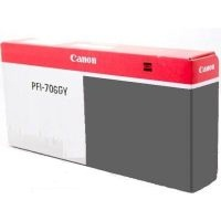 Genuine Canon PFI-706GY Gray Ink Cartridge