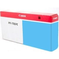 Genuine Canon PFI-706PC Photo Cyan Ink Cartridge