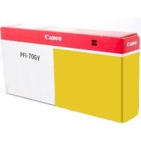 Genuine Canon PFI-706Y Yellow Ink Cartridge