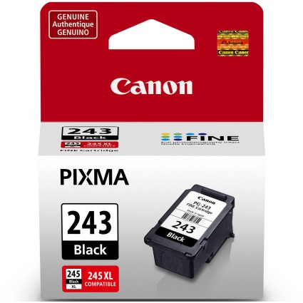 PG-243 Ink Cartridge - Canon Genuine OEM (Black)