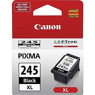 Genuine Canon PG-245XL Black Ink Cartridge