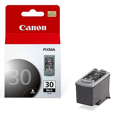 Genuine Canon PG-30 Black Ink Cartridge