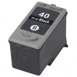 PG-40 Ink Cartridge - Canon Remanufactured (Black)