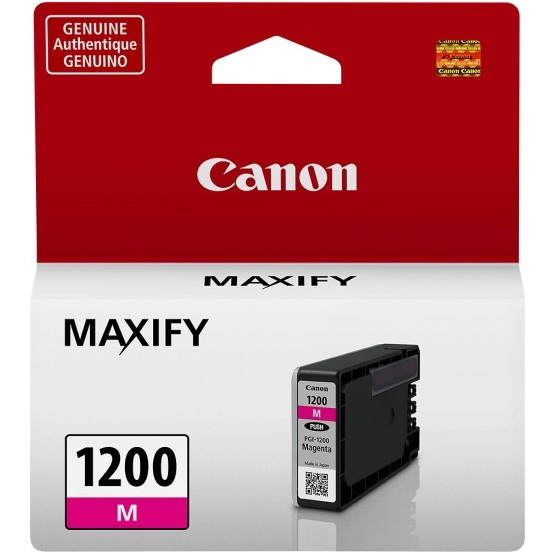 PGI-1200M Ink Cartridge - Canon Genuine OEM (Magenta)