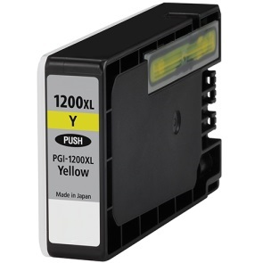 PGI-1200Y XL Ink Cartridge - Canon Compatible (Yellow)