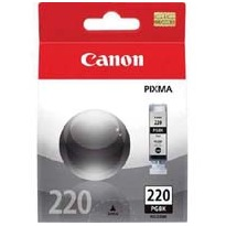 PGI-220BK Ink Cartridge - Canon Genuine OEM (Pigment Black)