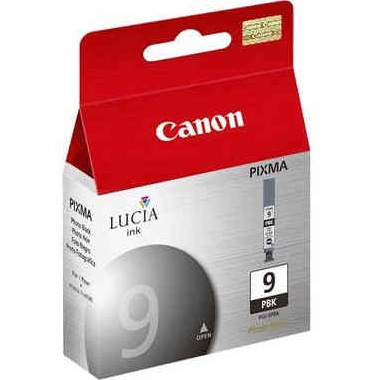 PGI-9PBK Ink Cartridge - Canon Genuine OEM (Photo Black)