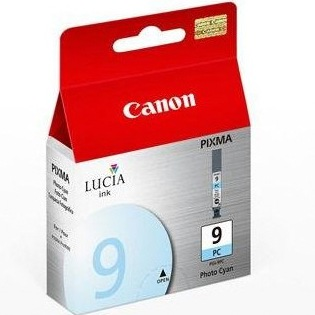 PGI-9PC Ink Cartridge - Canon Genuine OEM (Photo Cyan)