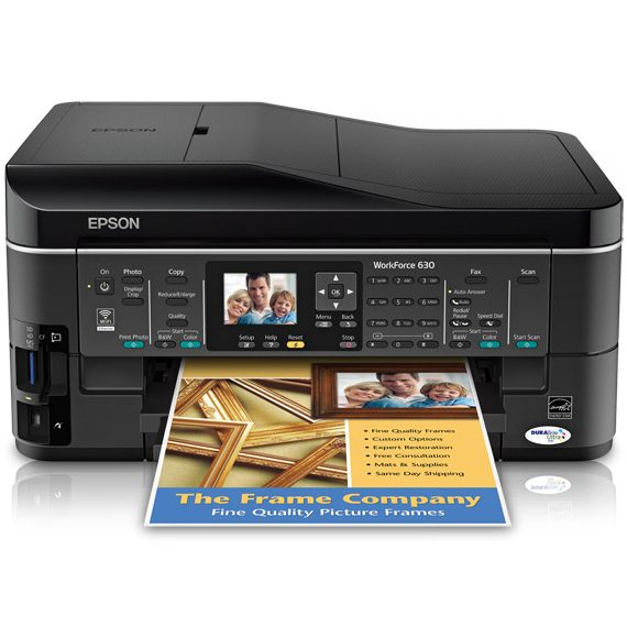 Epson WorkForce 630 Ink Cartridges