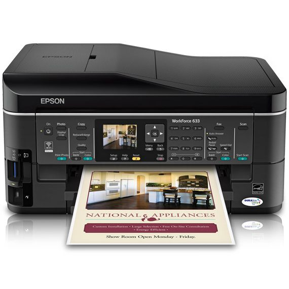 Epson WorkForce 633 Ink Cartridges