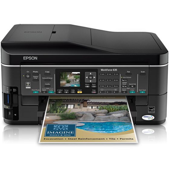 Epson WorkForce 635 Ink Cartridges