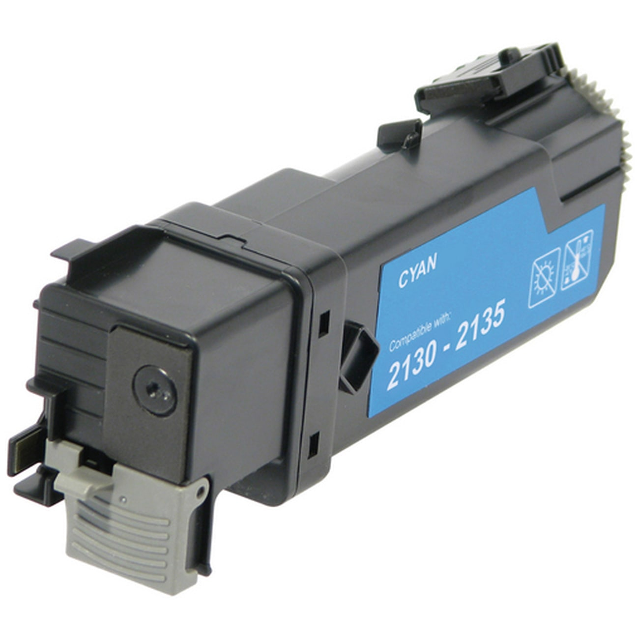 Compatible Dell 330-1437 Cyan Toner Cartridge