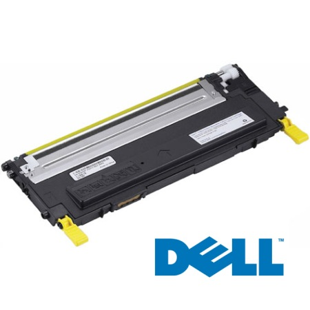Genuine Dell 330-3013 Yellow Toner Cartridge