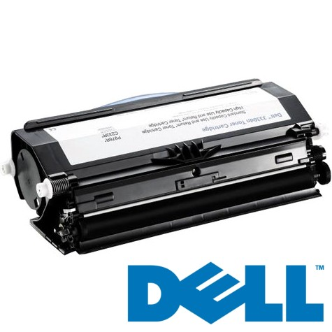 330-5210 Toner Cartridge - Dell Genuine OEM (Black)