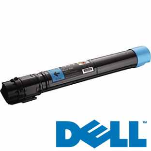 330-6138 Toner Cartridge - Dell Genuine OEM (Cyan)