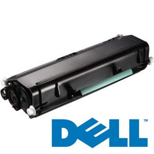 Genuine Dell 330-8985 Black Toner Cartridge