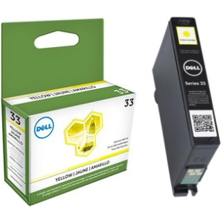 Genuine Dell 331-7380 Yellow Ink Cartridge