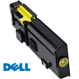 Genuine Dell 593-BBBO Yellow Toner Cartridge