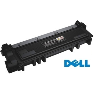 Genuine Dell 593-BBKD Black Toner Cartridge