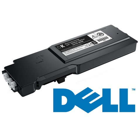 593-BCBC Toner Cartridge - Dell Genuine OEM (Black)