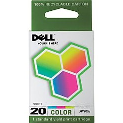 DW906 Ink Cartridge - Dell Genuine OEM (Color)