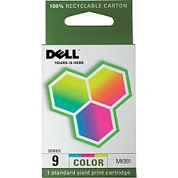 Genuine Dell MK991 Color Ink Cartridge