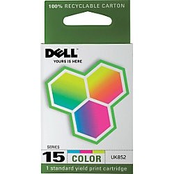Genuine Dell UK852 Color Ink Cartridge