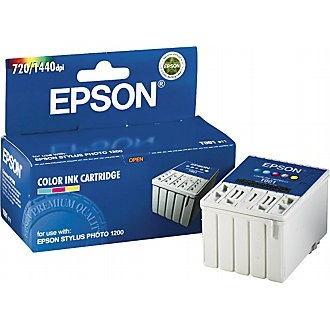 Genuine Epson T001011 Color Ink Cartridge