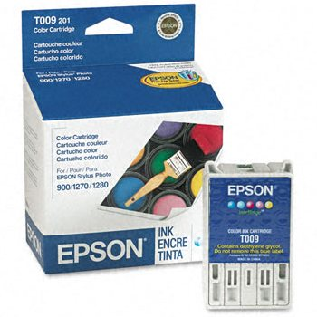Genuine Epson T009201 Color Ink Cartridge