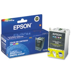 Genuine Epson T016201 Color Ink Cartridge