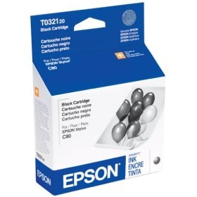 T032120 Ink Cartridge - Epson Genuine OEM (Black)